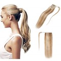 "Remy Hair - Ponytail - Lightest blonde - 20""  100grm"